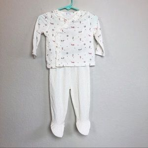 Angel Dear 2-piece Fox Outfit 3-6 month